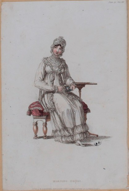 Fashion plate from Ackermann's Repository October 1815