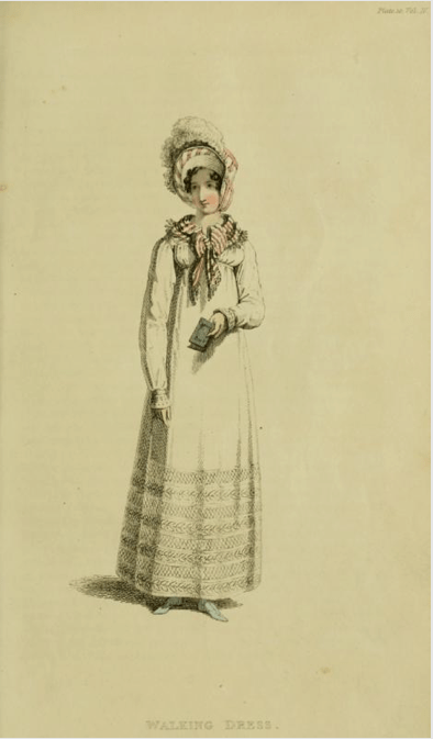 Walking Dress August 1817