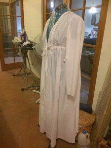Morning Robe in progress