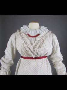Polka dot dress 1810-1815
