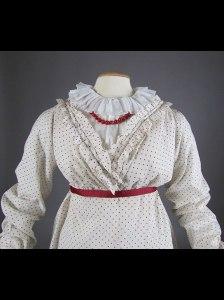 Polka dot dress 1810-1815