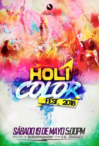 Holi Festival Guadalajara 2018 / Calle 2