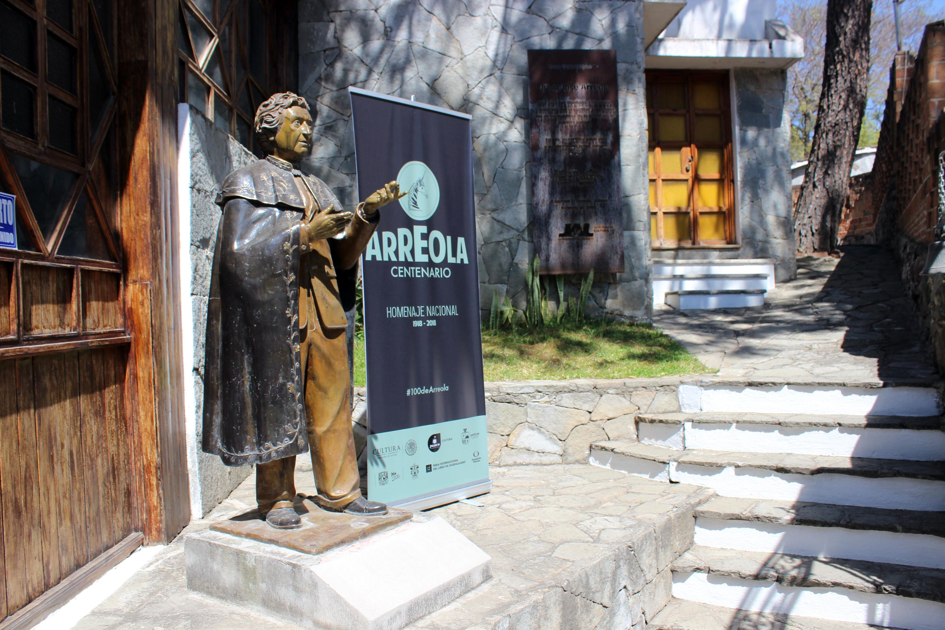 Anuncian Homenaje Nacional por los 100 años de Arreola