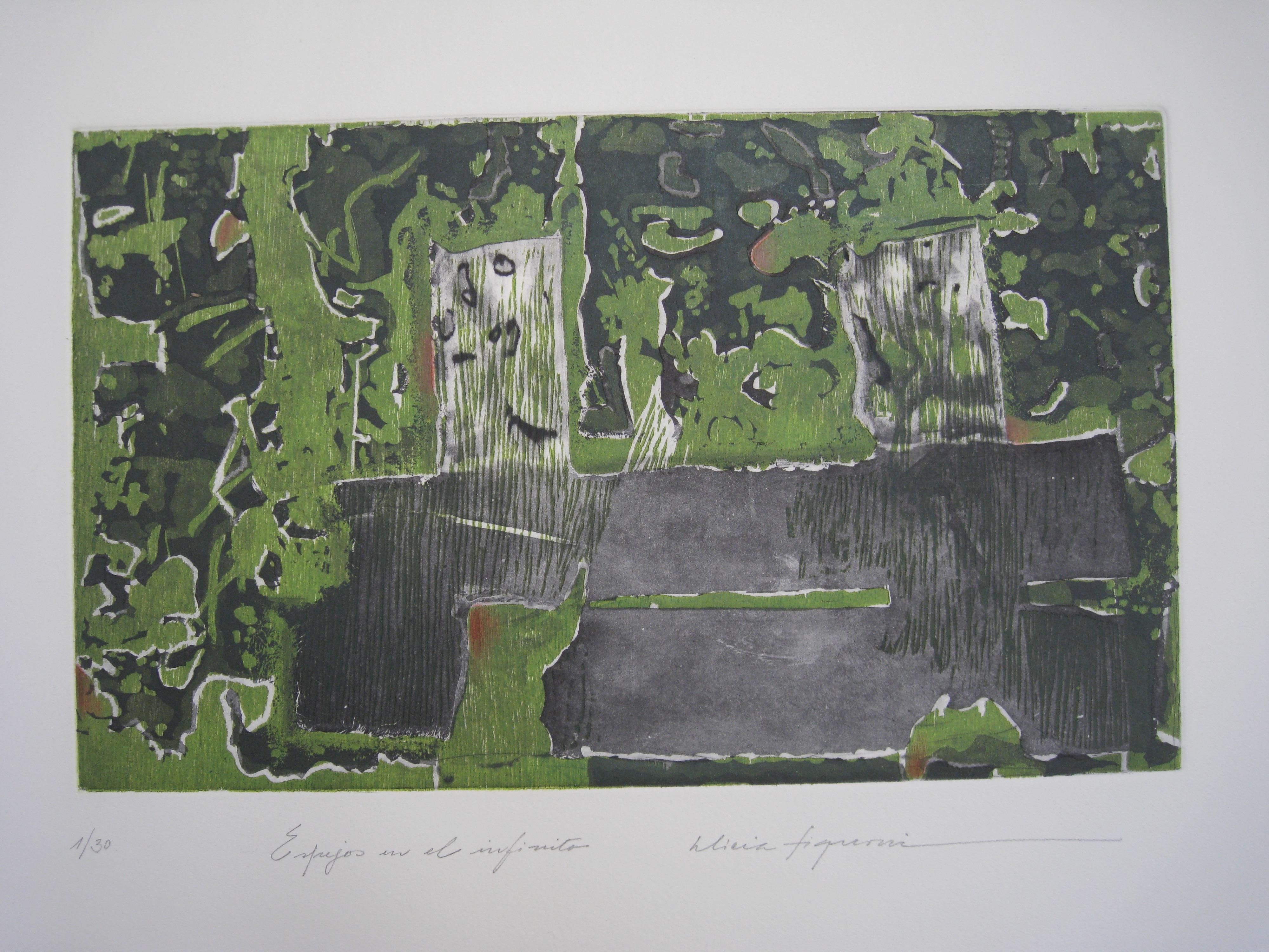 'Miradas y abstracciones' de Cornelio García y Alicia Fignoni / Galería Javier Arévalo