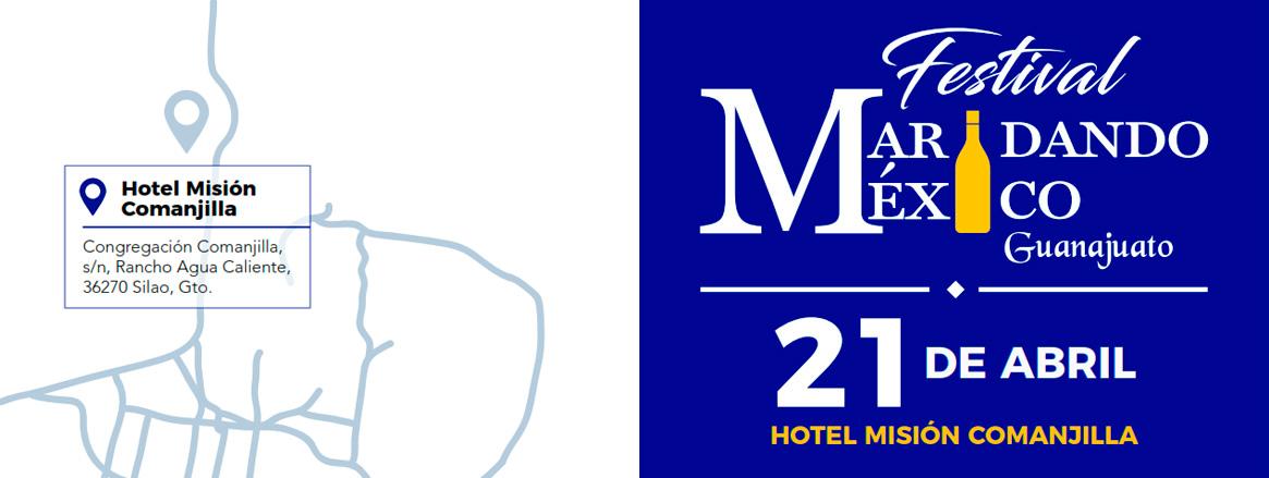 Hoteles Misión estrena sede en Guanajuato para su Festival de Vinos Maridando México