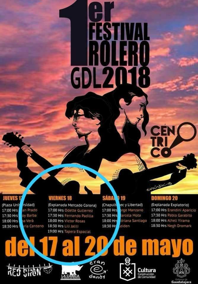 1er Festival Rolero en Guadalajara