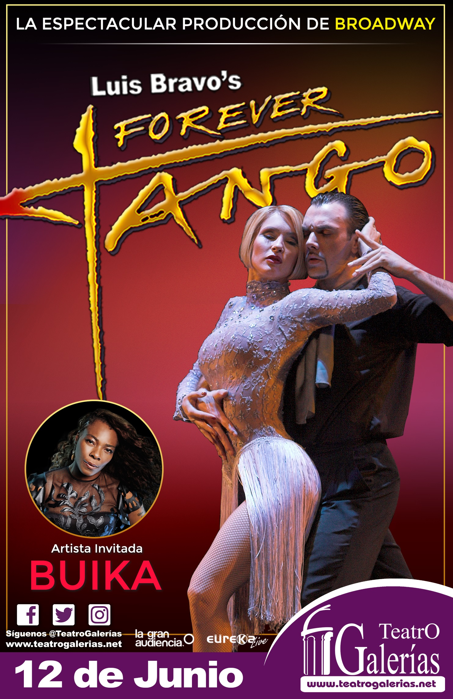 Forever Tango / Teatro Galerías