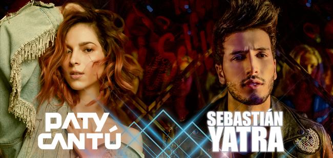 Sebastian Yatra y Paty Cantú / Auditorio Telmex