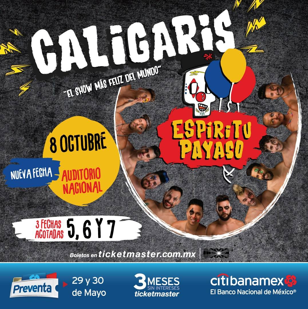Caligaris / Auditorio Nacional