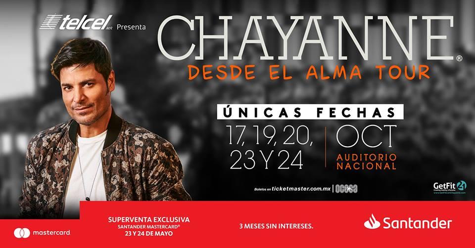 Chayanne / Auditorio Nacional