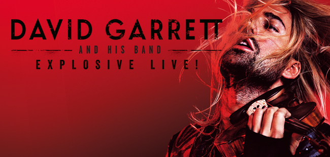 David Garrett / Auditorio Telmex / 4 de noviembre, 19:00 hrs