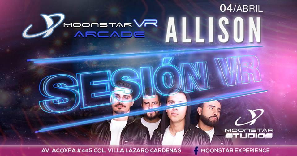 Moonstar Experience  presenta Sesión VR con Allison / Showroom en Acoxpa 445 en el sur de la Ciudad de México.