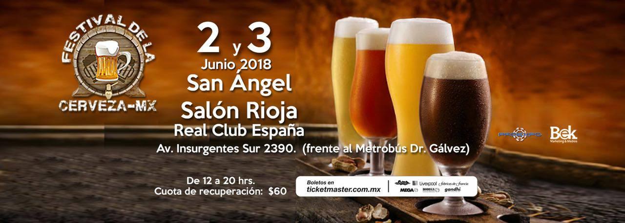 Festival de la Cerveza / Real Club España, en la CDMX