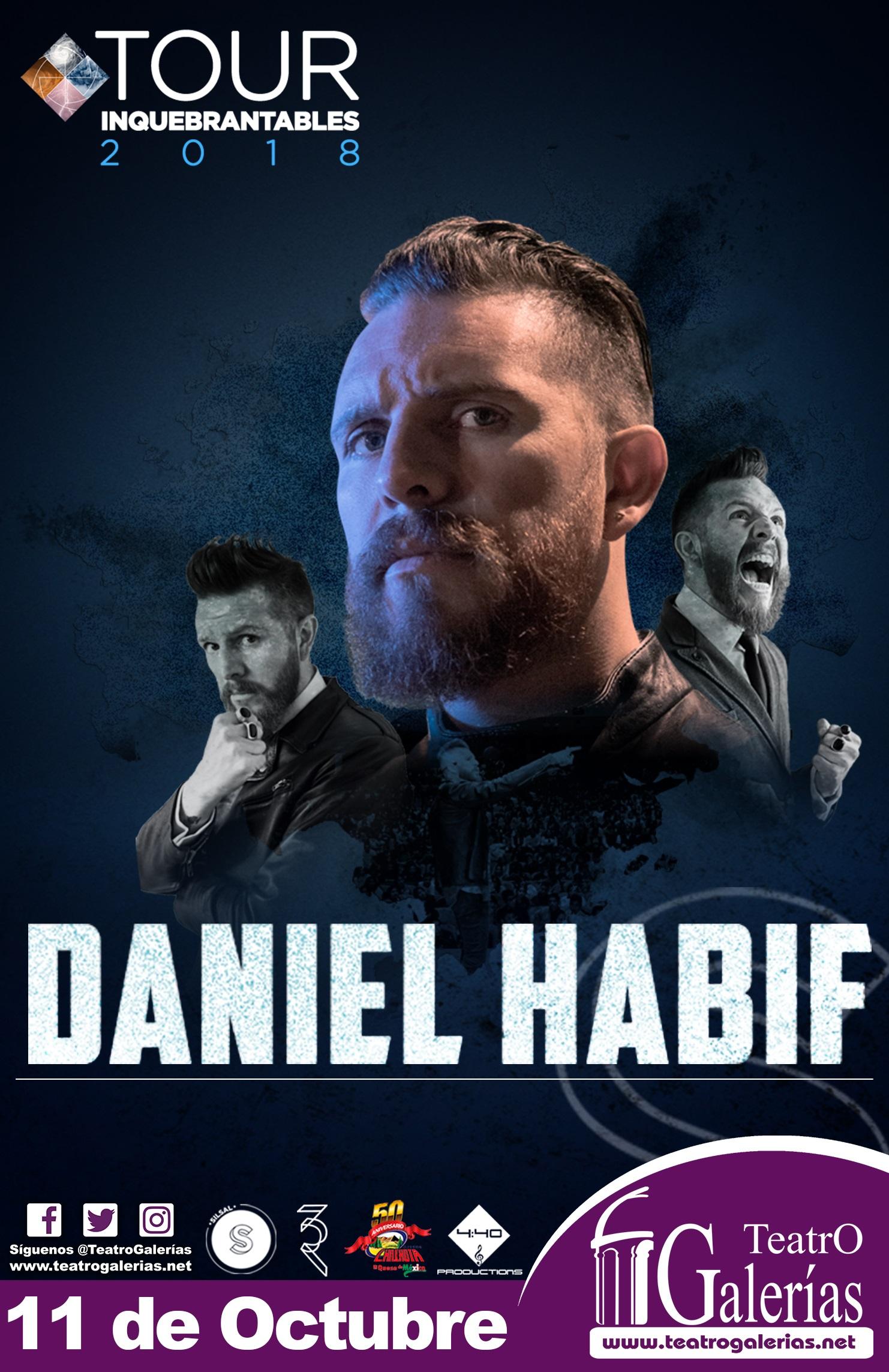 Daniel Habif / Teatro Galerias