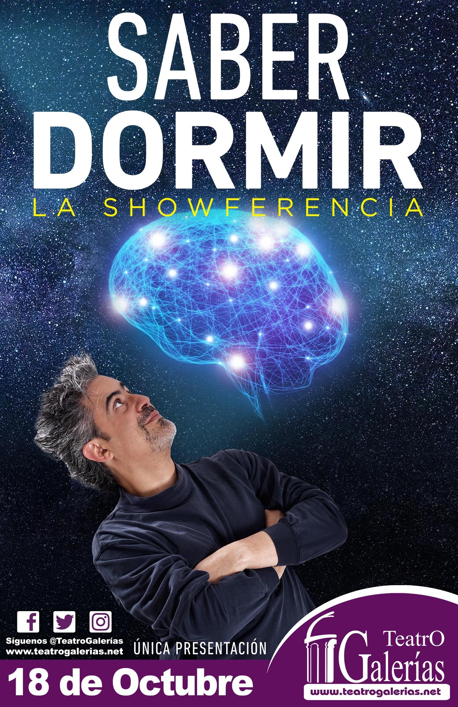 Saber Dormir / Teatro Galerías