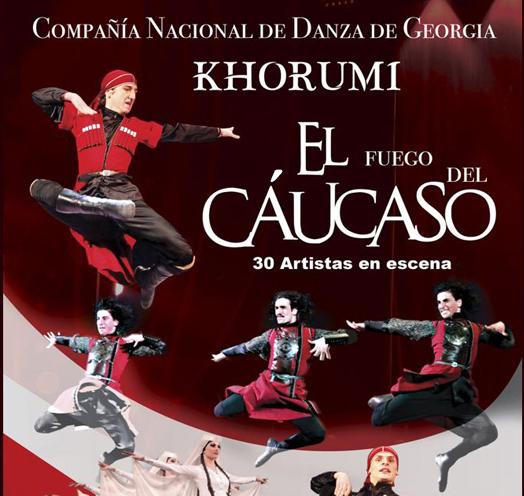 Compañía Nacional de Danza de Georgia: Khorumi el Fuego del Cáucaso / Teatro Diana