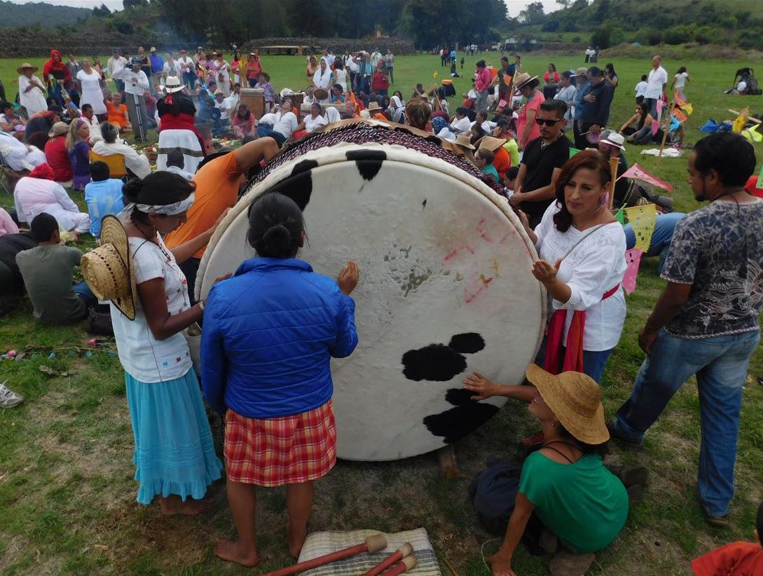 Guachimontones será sede de la sexta edición de la Ceremonia 1000 Tambores