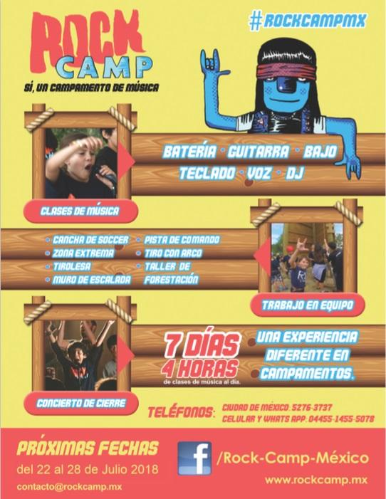 Rock Camp México / Ex Hacienda La Galera