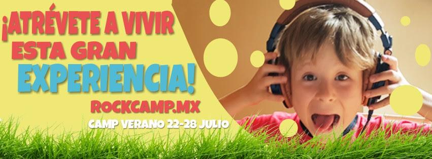 Rock Camp México / 23 al 28 de julio
