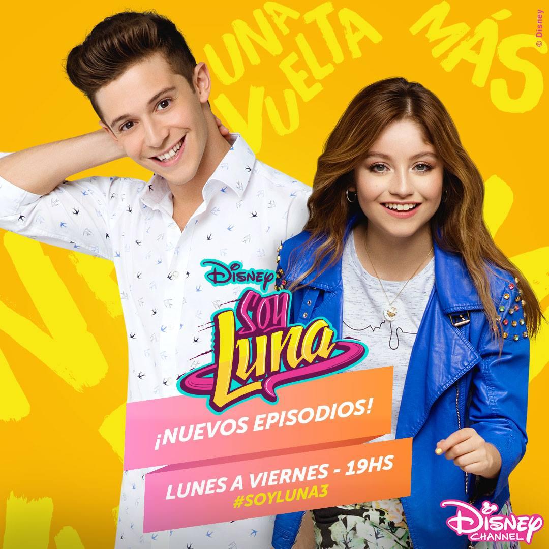 Regresa Soy Luna a Disney Channel con episodios estreno