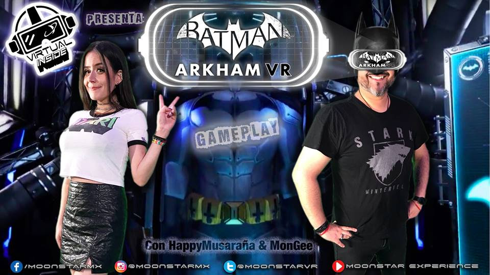Batman Arkham vr el Game Play de Moonstar Experience Episodio 04