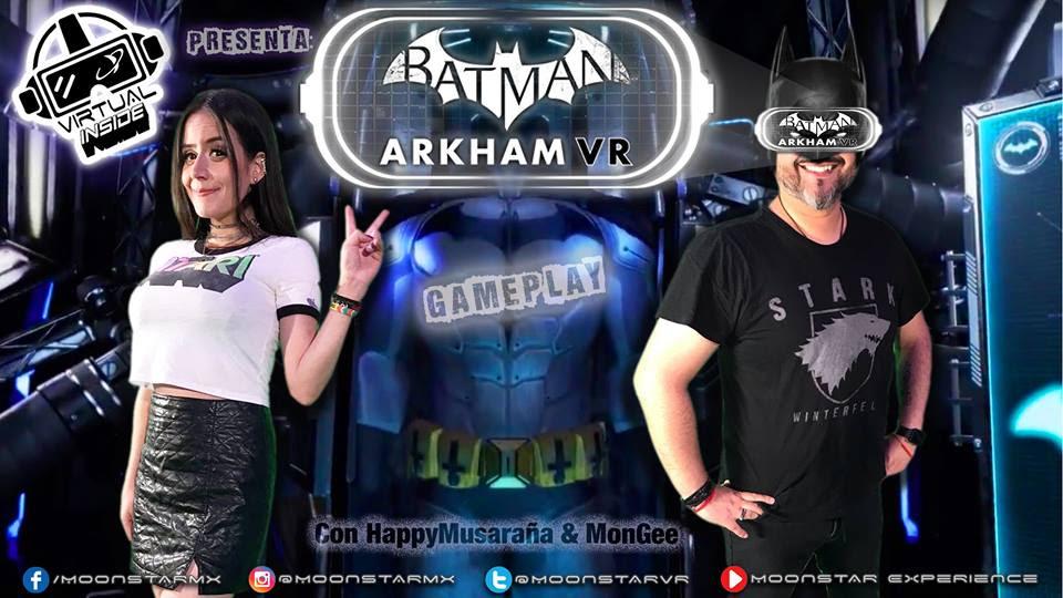 Batman Arkham vr el Game Play de Moonstar Experience Episodio 04