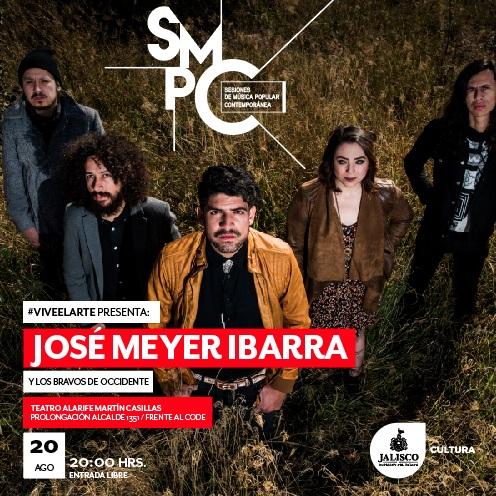José Meyer Ibarra y los Bravos de Occidente / Teatro Alarife Martin Casillas