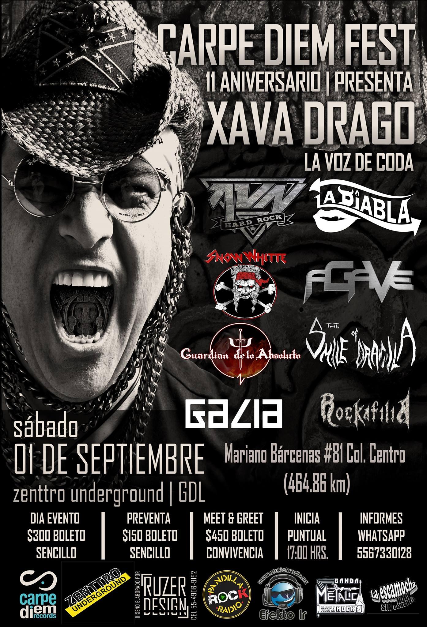 Xava Drago / Zenttro Underground