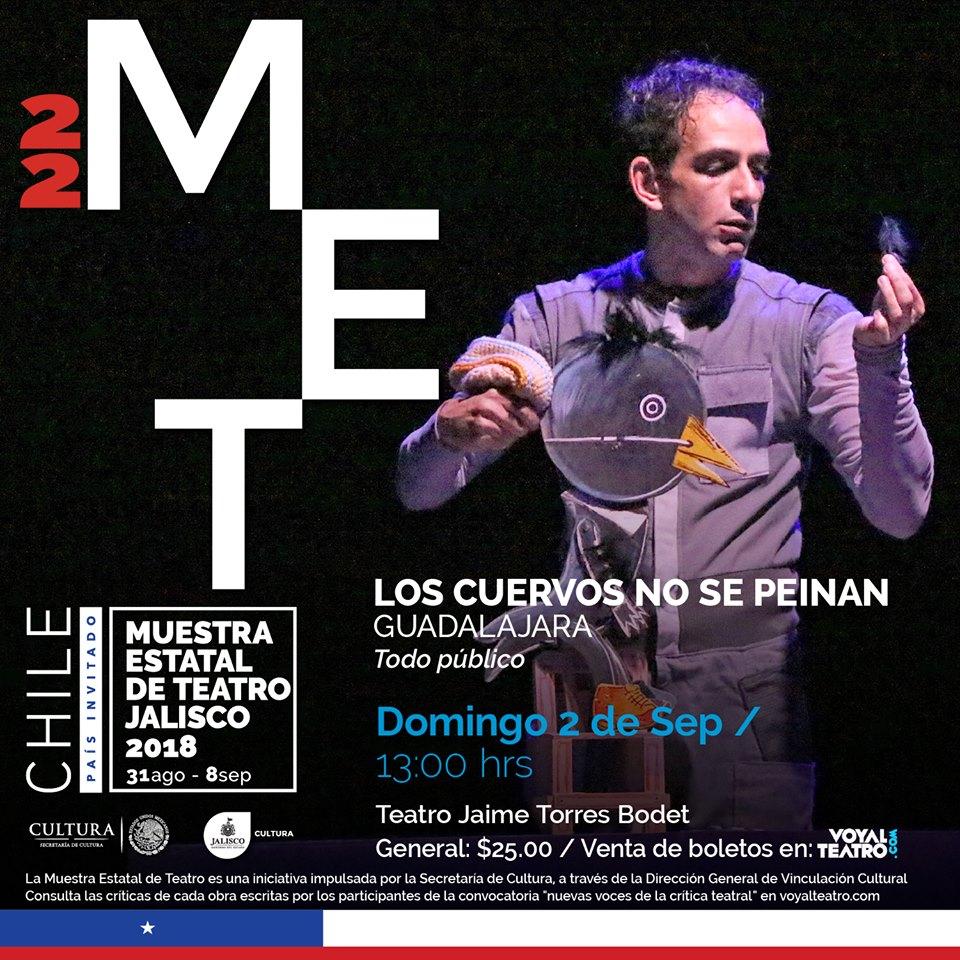 Los cuervos no se peinan / Teatro Jaime Torres Bodet