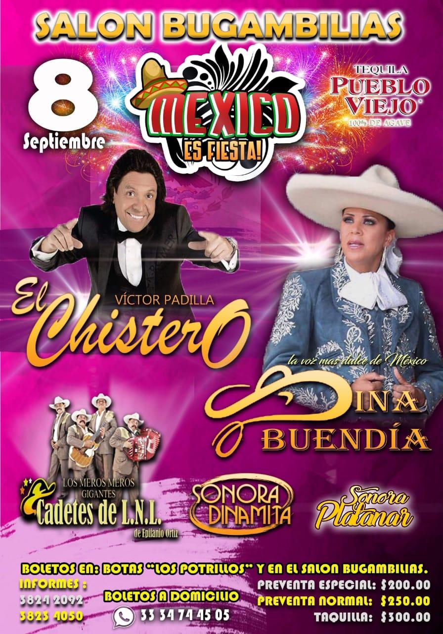 México es Fiesta Salón Bugambilias