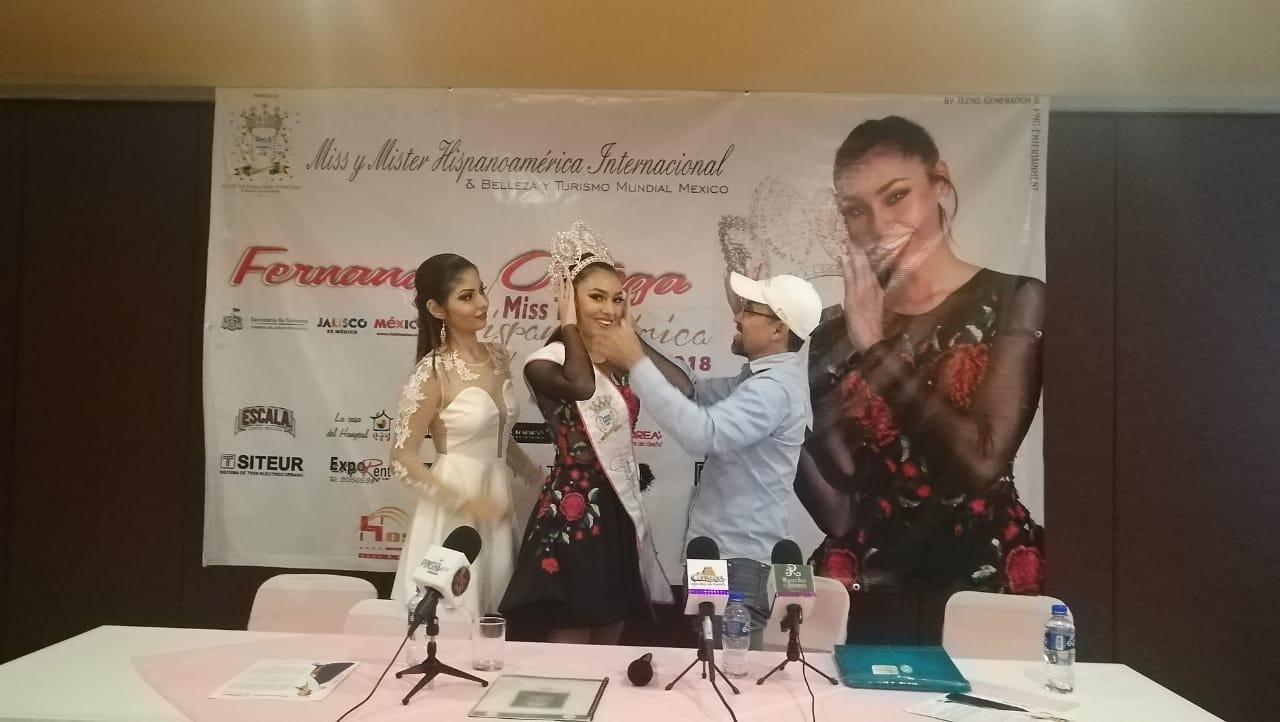Rueda de prensa / Certamen Nacional de Belleza Miss Teen Hispanoamerica