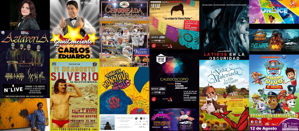 Boletín Semanal Eventos del 6 al 12 de agosto