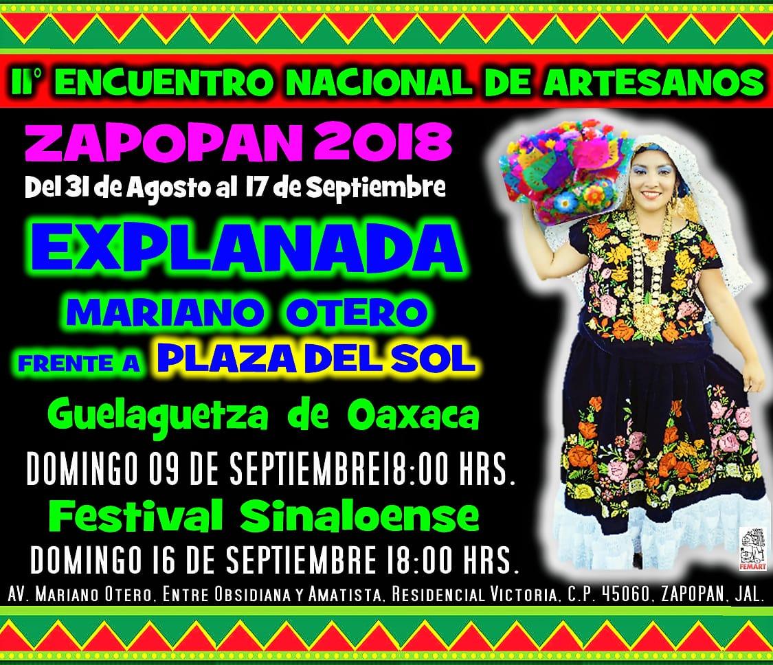 II° Encuentro Nacional de Artesanos / Explanada Mariano Otero