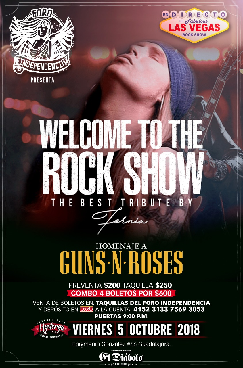 Welcome To The Rock Show (Homenaje a Guns & Roses) / Foro Independencia