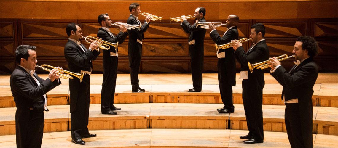 Taller para trompetistas con el ensamble de trompetas Simón Bolívar / Conjunto de Artes Escénicas