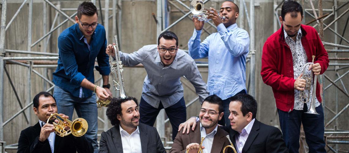Ensayo público con el Ensamble de Trompetas Simón Bolívar / Conjunto de Artes Escénicas
