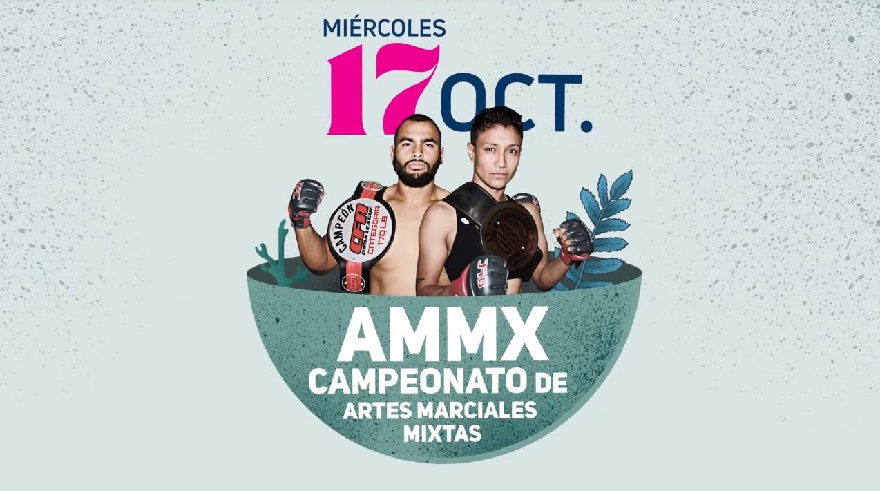 Campeonato de Artes Marciales mixtas / Auditorio Benito Juárez