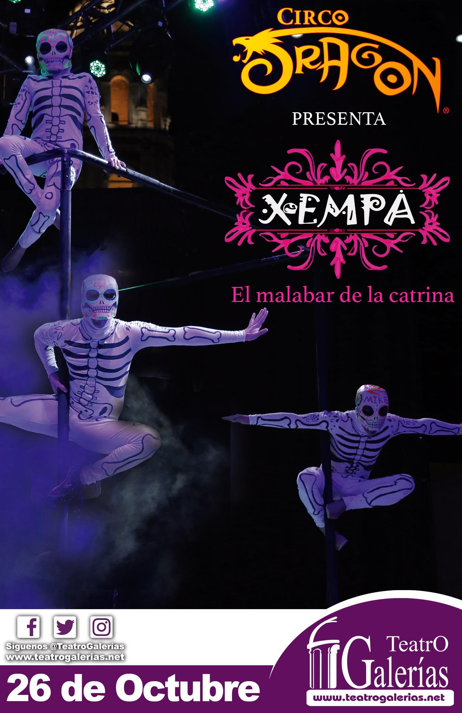 Xempa Mexico; Tradiciones, Vida y Muerte / Teatro Galerías