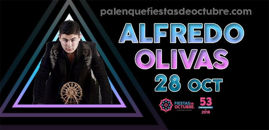 Alfredo Olivas / Palenque Fiestas de octubre 2018