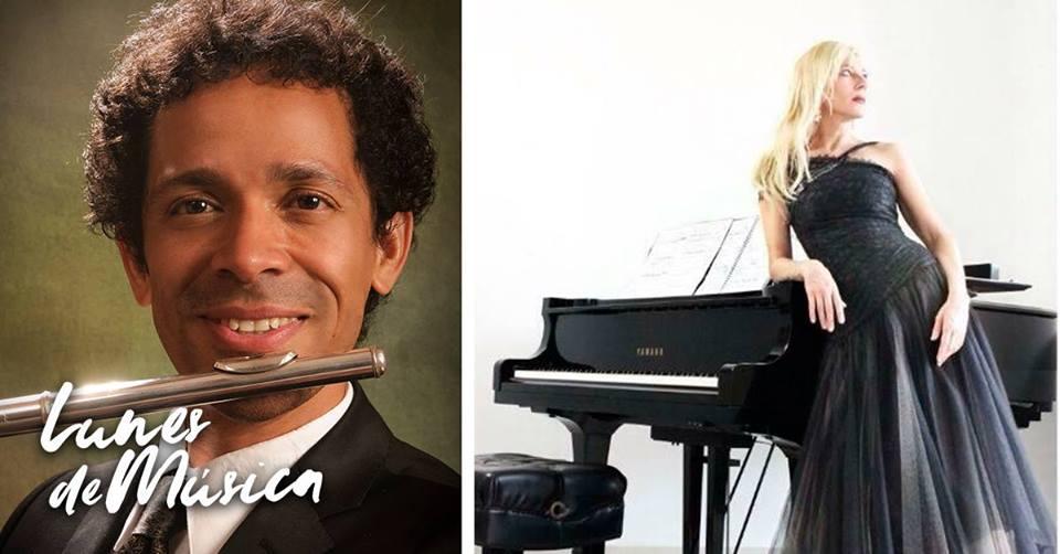 Carolina Rodríguez, Piano y Cuauhtémoc García, Flauta / PALCCO
