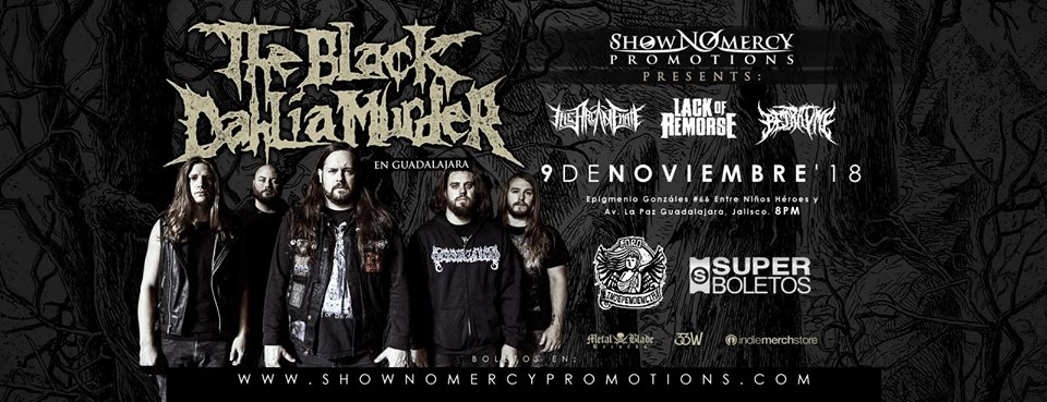 The Black Dahlia Murder / Foro Independencia