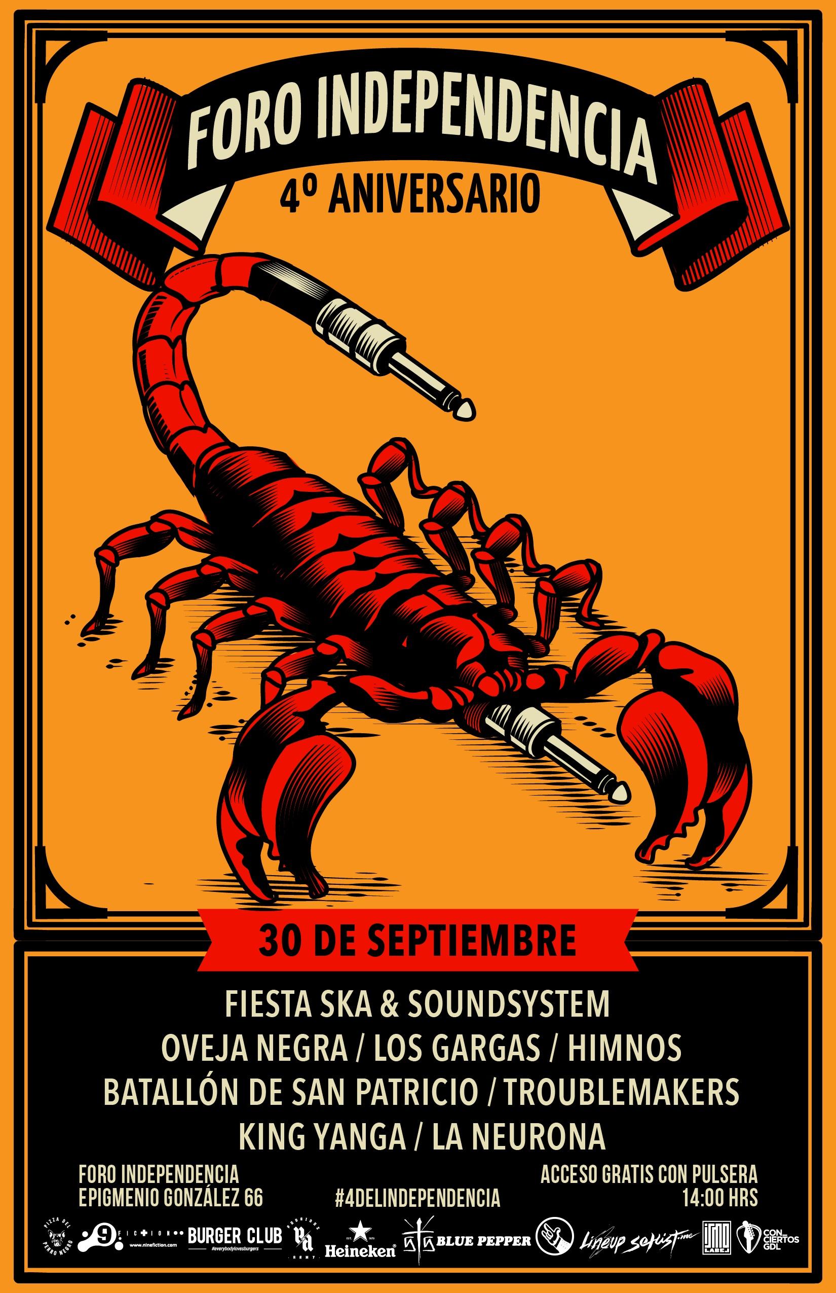 Fiesta Ska & Soundsystem / Foro Independencia
