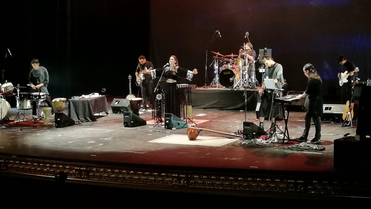 Radaid Presentando su nuevo disco Alkemia The willing parte II en el Teatro Degollado