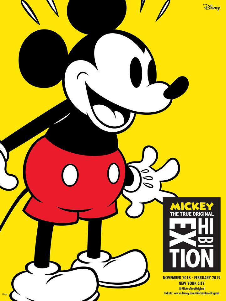 """Se anunció la muestra """"Mickey: The True Original Exhibition"""", la primera en su tipo, para celebrar los 90 años de Mickey Mouse en Nueva York el próximo otoño"""