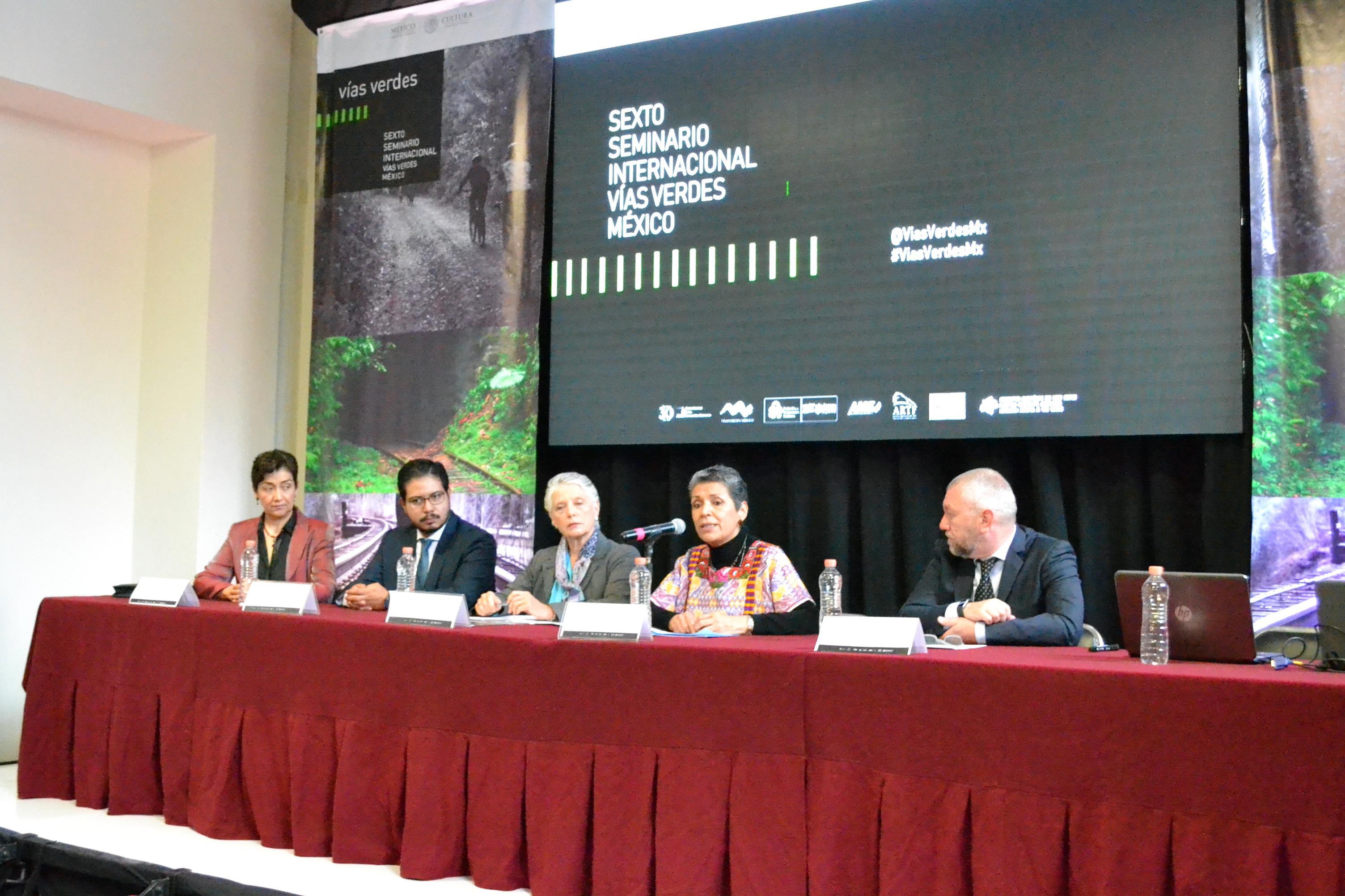 Comienza el VI Seminario Internacional Vías Verdes México