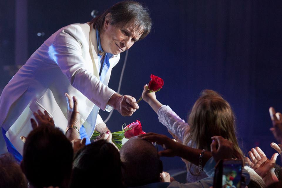 Roberto Carlos en su gira Emociones