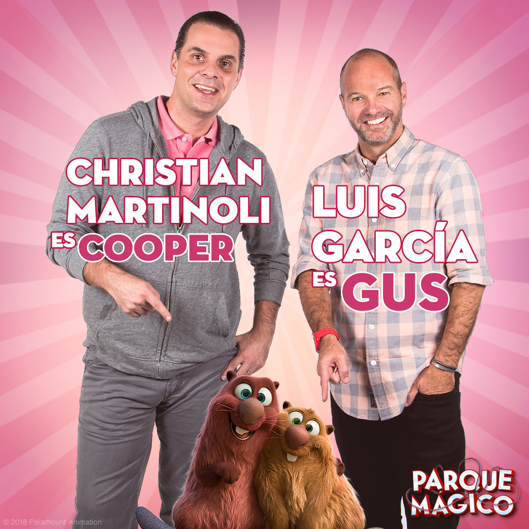"""Luis García y Christian Martinoli se unen al doblaje de """"Parque Mágico"""""""