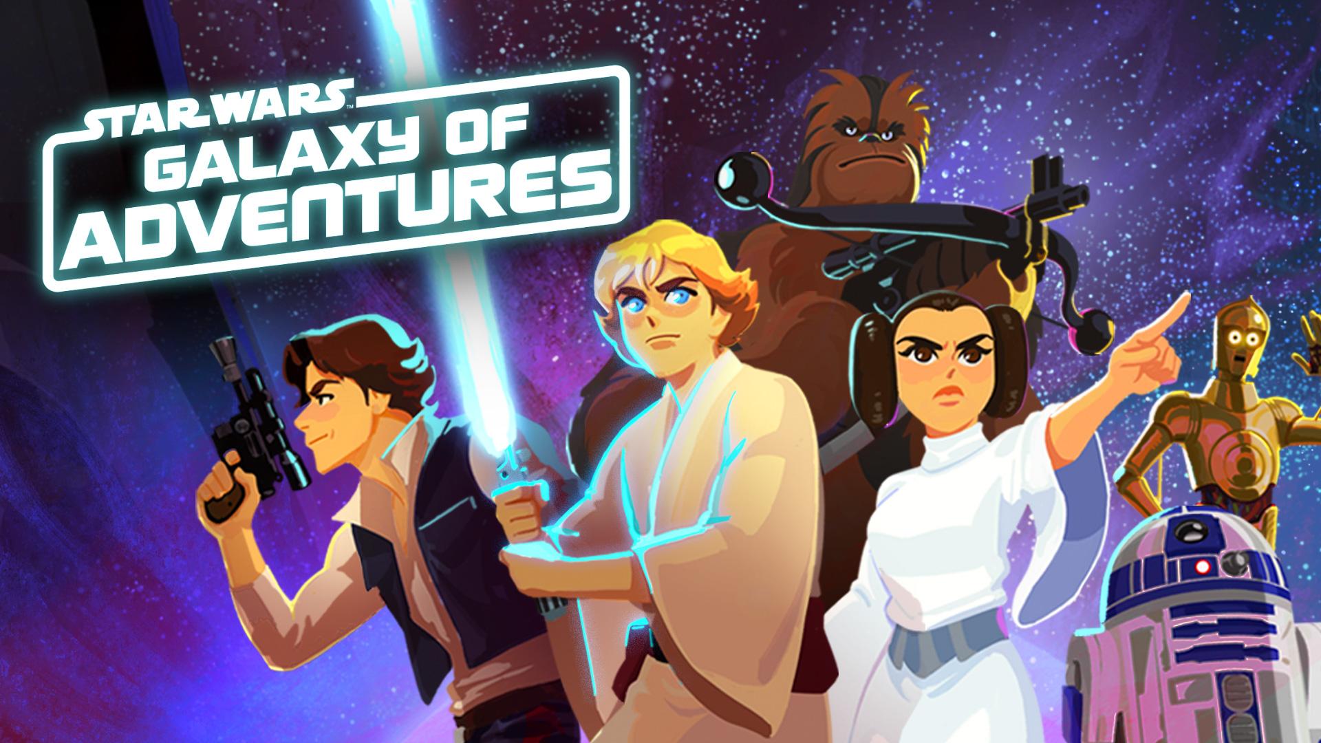Star Wars Galaxy of Adventures acerca los personajes clásicos a una nueva generación