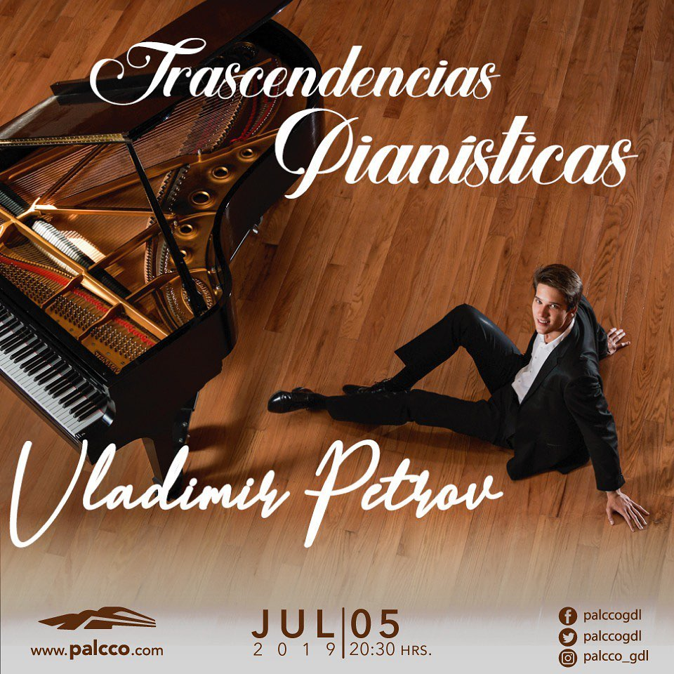 Recital de Piano Vladimir Petrov