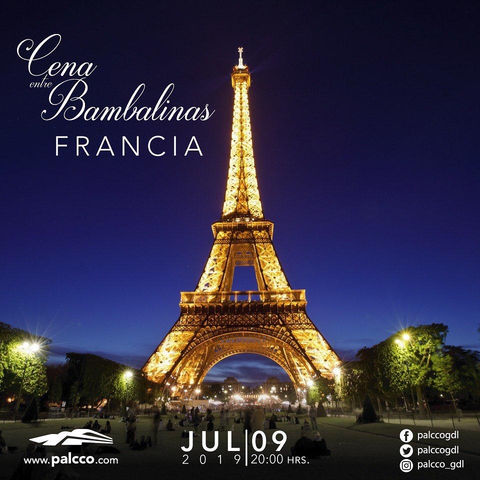 Cena Entre Bambalinas / Francia